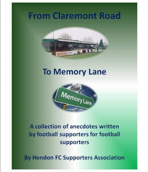 From Claremont Road to Memory Lane