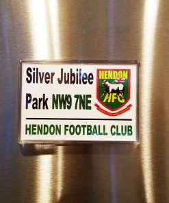 Hendon Football Club magnet Silver Jubilee Park