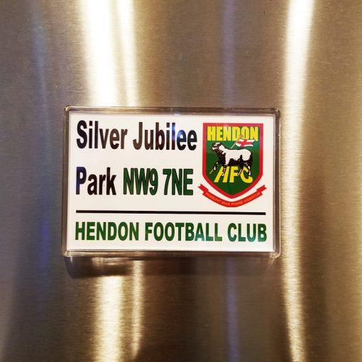 Hendon Football Club magnet Silver Jubilee Park