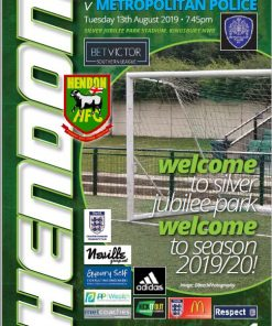 hendon football club versus metropolitan police cover