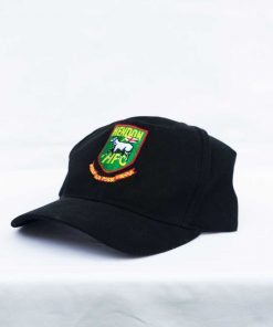 Hendon football club black baseball cap