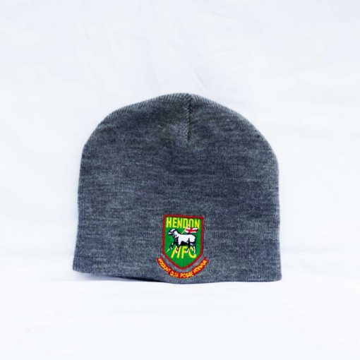 Hendon football club grey beanie hat