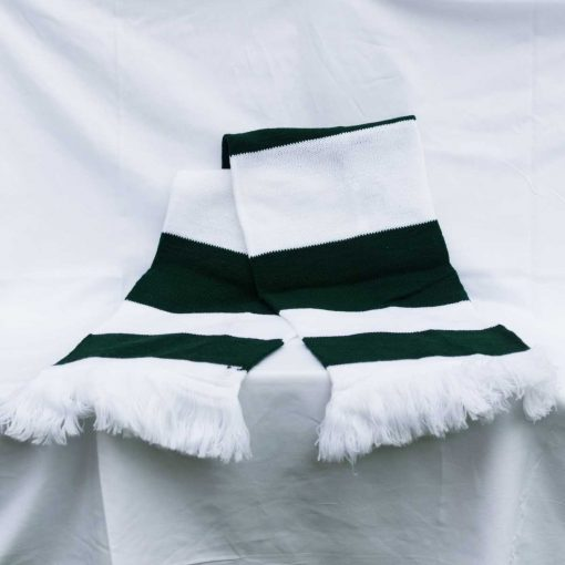 Hendon Football Club Traditional Green and White Scarf