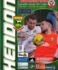HendonFC versus Beaconsfield cover