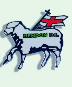 white lamb badge for hendon fc