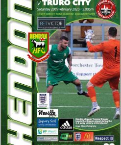 Hendon Football Club plays Truro City