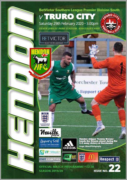 Hendon Football Club plays Truro City