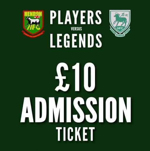 10 pound admission ticket