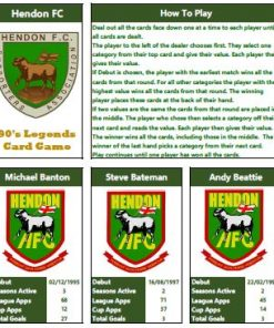 Hendon FC Legends 1990s