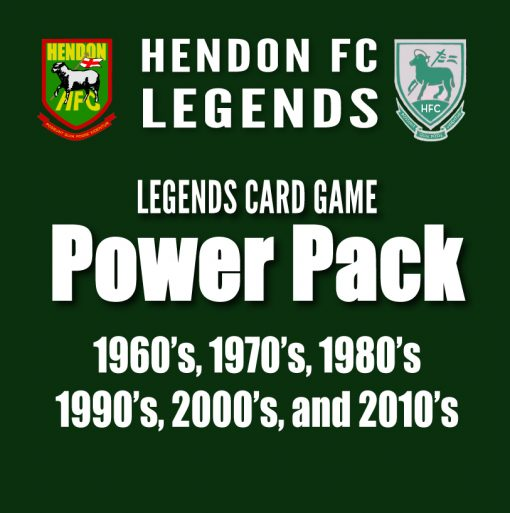 Hendon FC Legends Power Pack