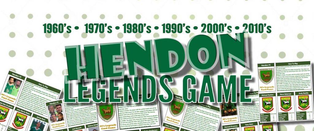 Hendon FC Legends Game