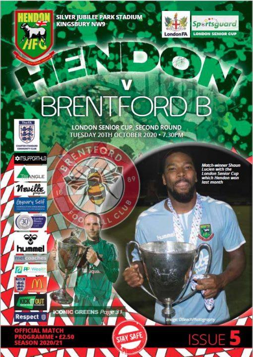 Hendon v Brentford LSC