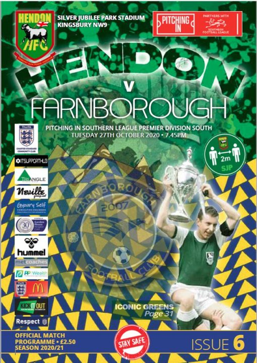 Hendon FC program compendiums