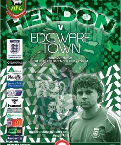 Hendon FC v Edgware cover