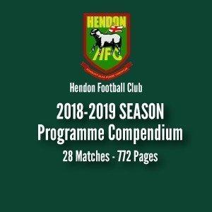 Hendon FC 2018-19 program compilation