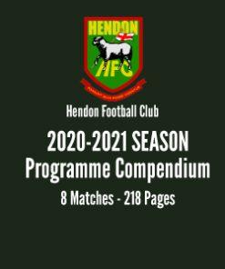 Hendon Football Club 2020-21 Season programme compendium
