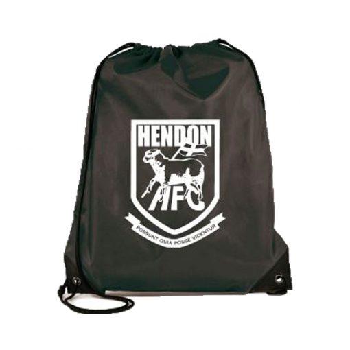 Hendon FC drawstring tote bag